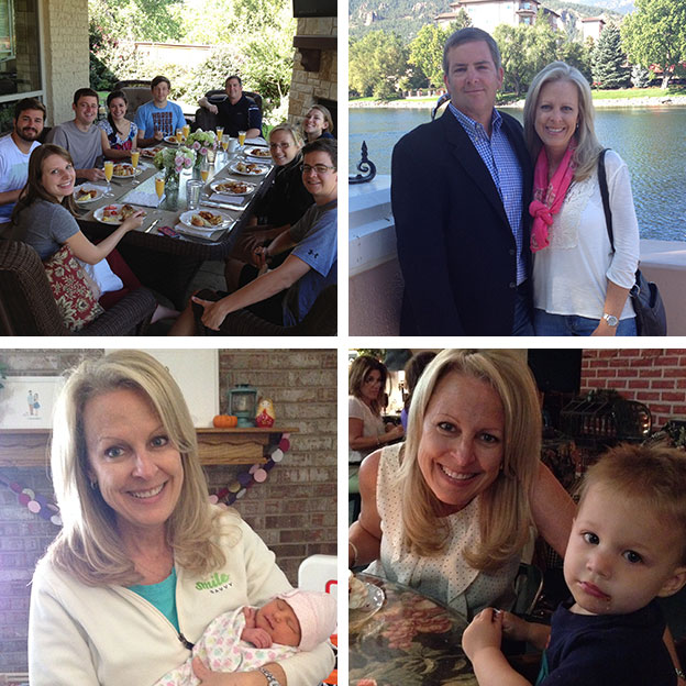 Julie Fields and Her Family