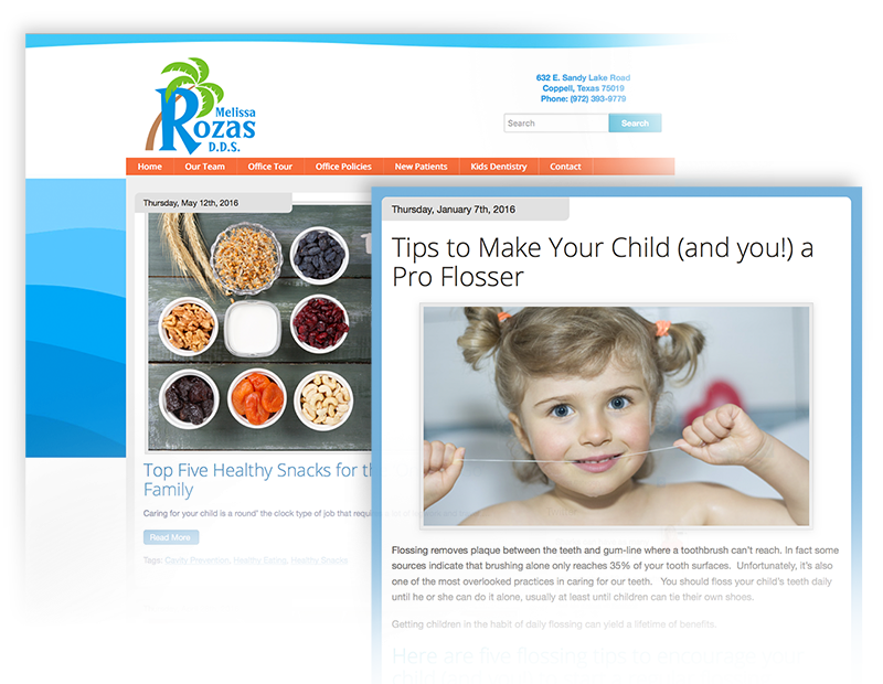 Wordpress Blogs for Pediatric Dentist Websites with Custom, Quality Content Written by Smile Savvy