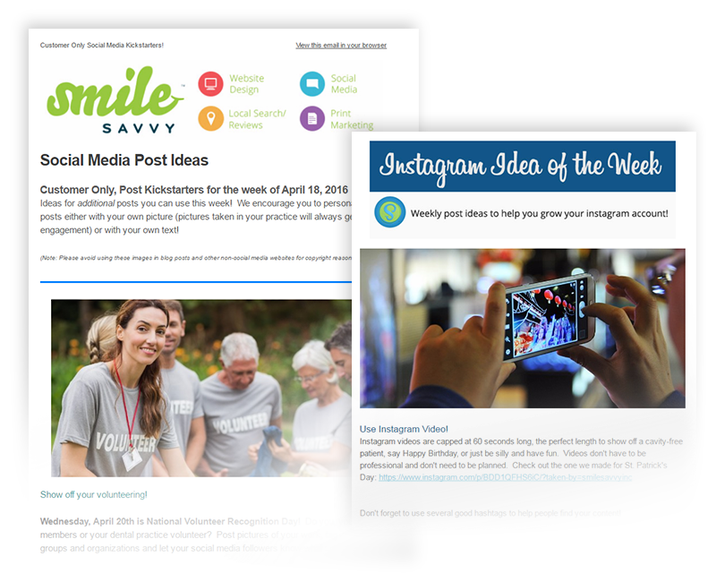 Social Media Kickstarter Ideas for Pediatric Dentist Social Networks