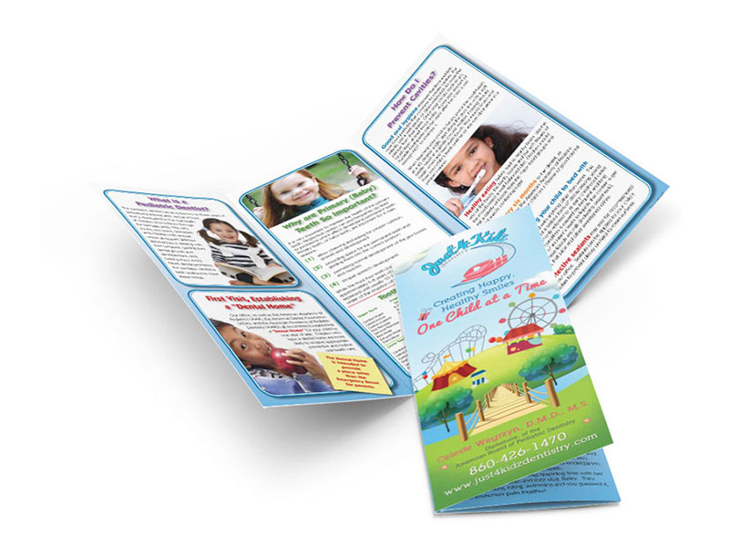 Marketing Brochures for Pediatric Dentists