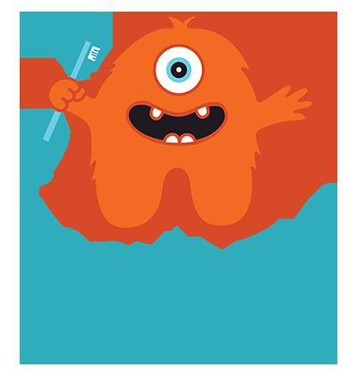 Rocky Top Pediatric Dentistry - Smile Savvy Logo Design