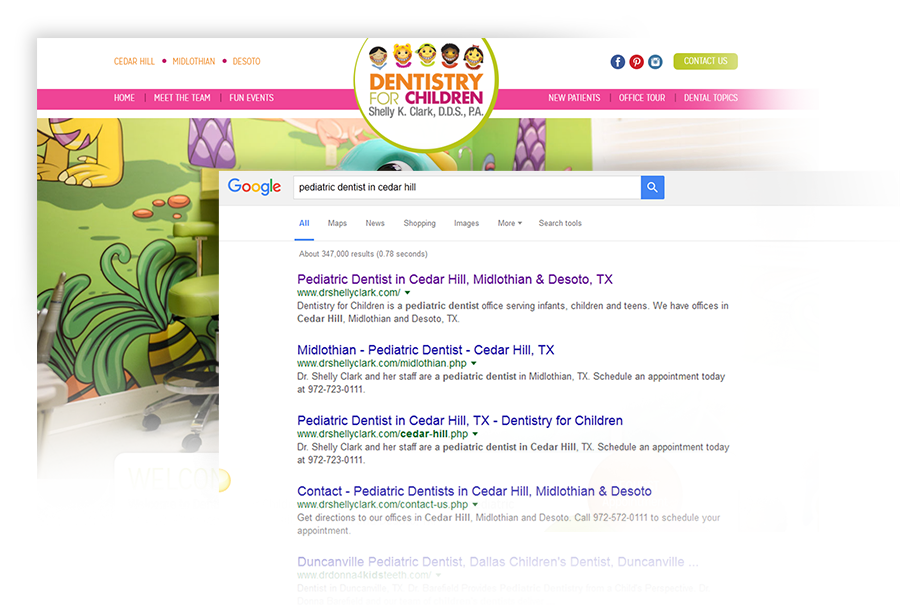Top SEO Results for Pediatric Dentists from Smile Savvy