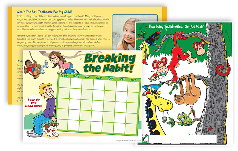 Pre-Developed Content for Pediatric and Adult Dentistry and Learning Tools