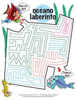 Spanish Dental Maze Activity Sheet for Pediatric Dentists