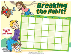 Breaking the Habit Motivational Charts for Pediatric Dentists