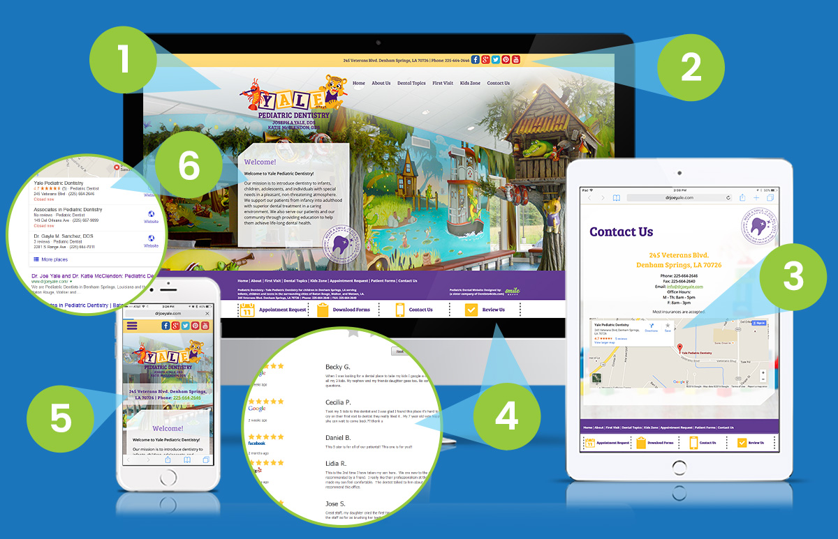 Smile Savvy's Fresh Start Bundle Includes a Website, Social Media and Local Search Optimization