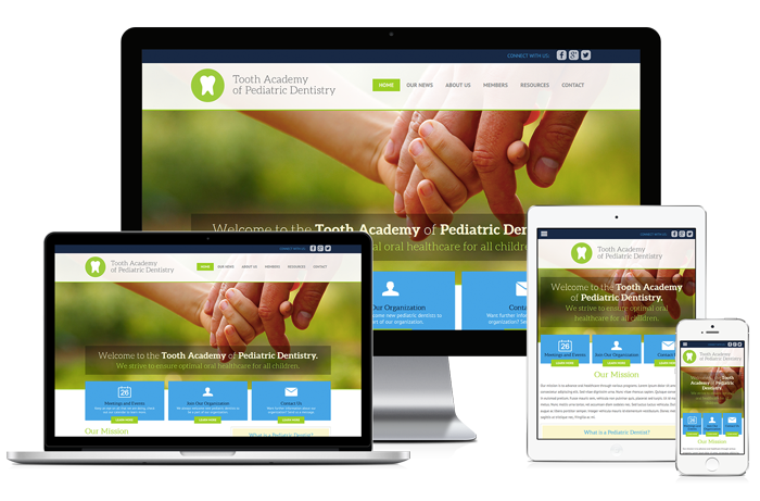 Websites for Dental Organizations from Smile Savvy