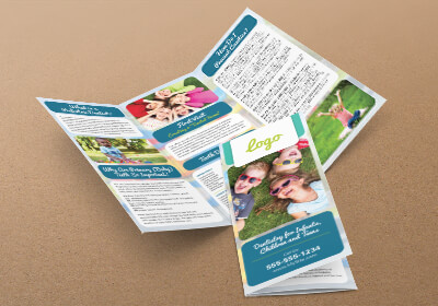 Pediatric Dentist Brochure Design 40