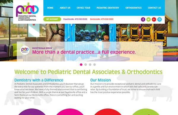 Pediatric Dental Associates and Orthodontists - Custom Websites for Pediatric Dentists