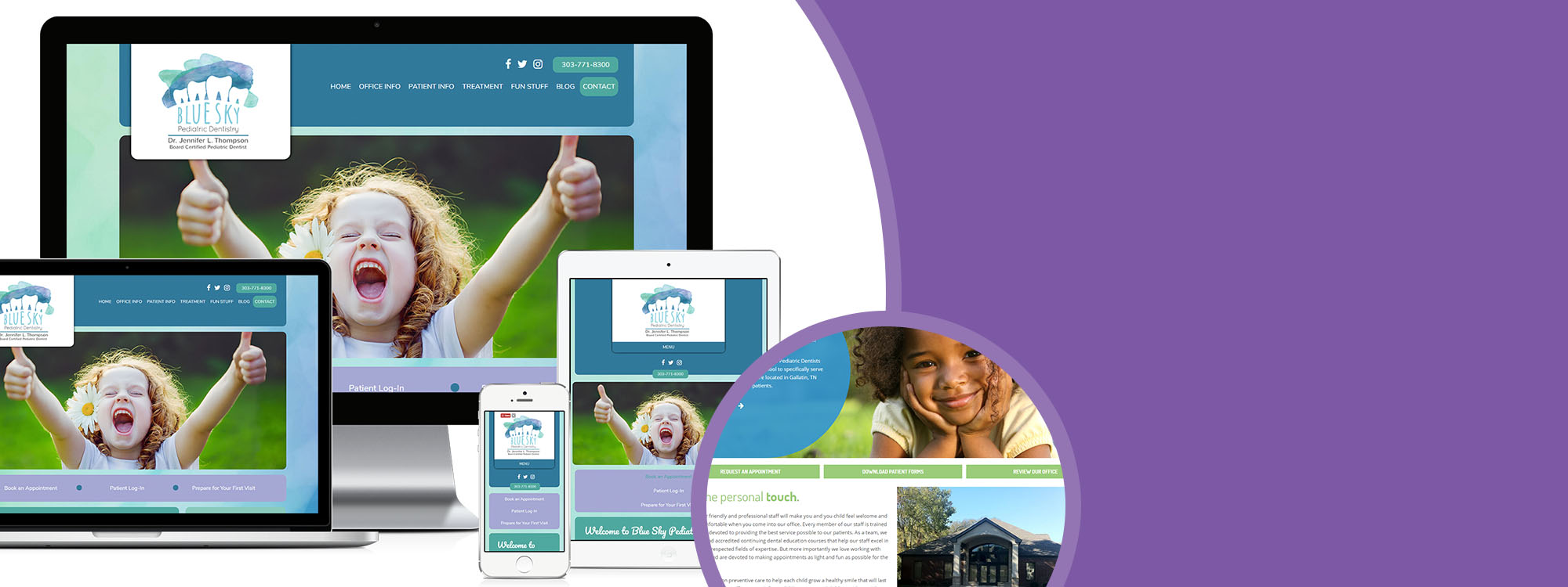 Responsive Website Design for Dentists