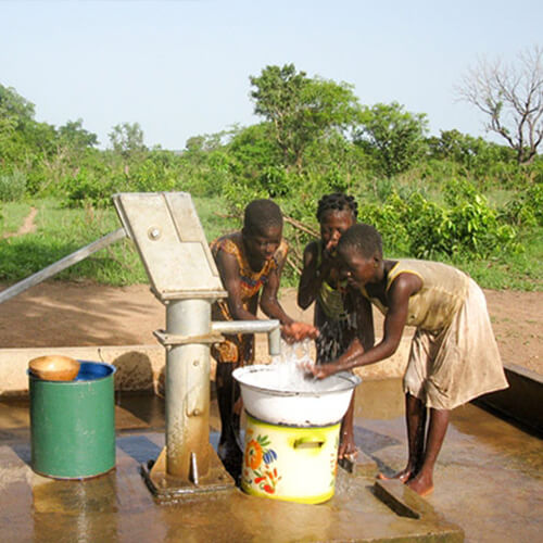 Clean Water from a World Vision Well