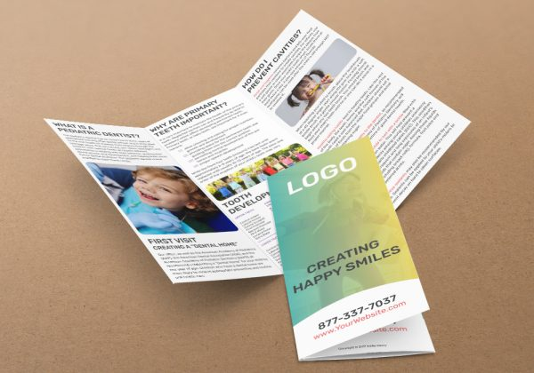 marketing brochures direct mail for dentists smile savvy