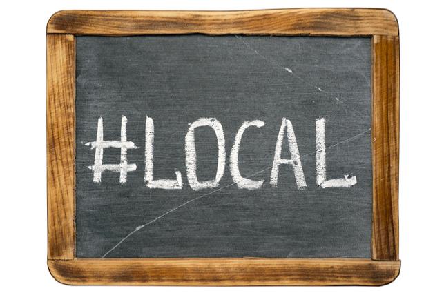 local hashtag
