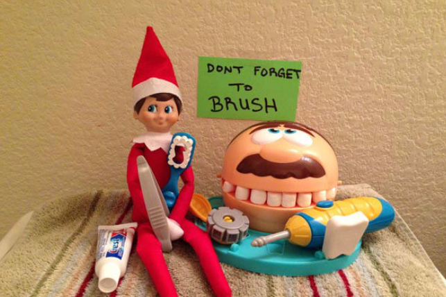 Christmas Dentist Elf.Beyond The Shelf 6 Fun Ways Pediatric Dentists Can Use The