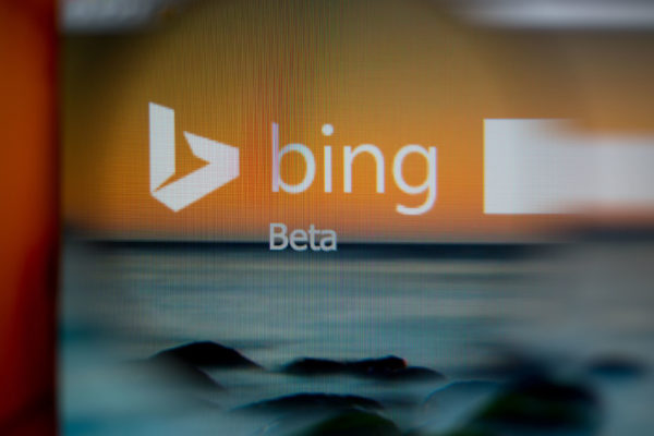 bing search bar