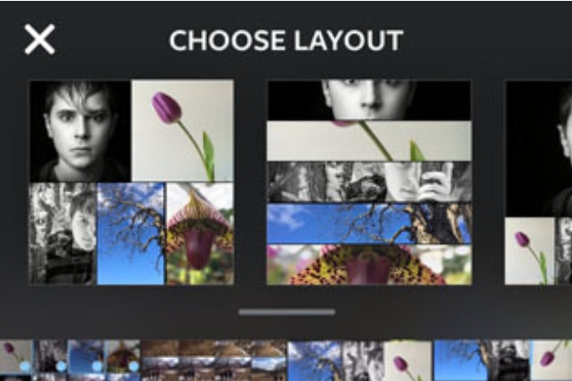 instagram layout example