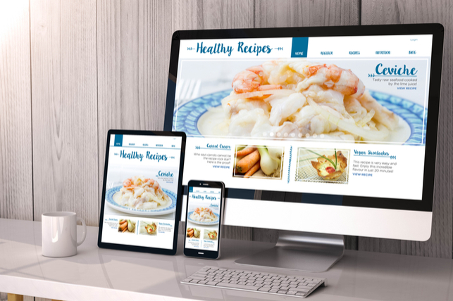 responsive website design examples
