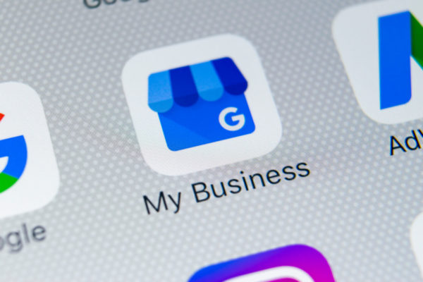 google my business app icon on iphone