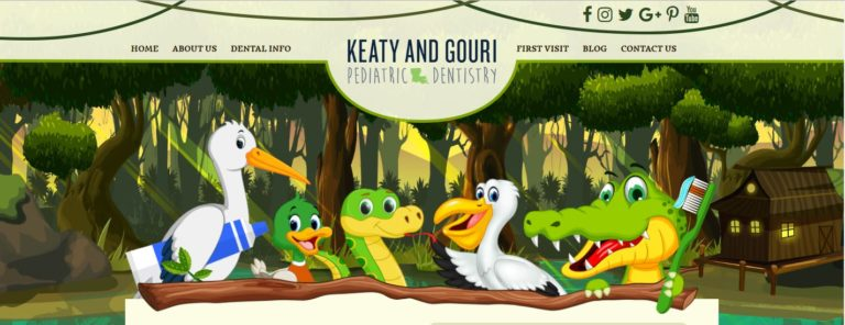 Website design for Drs. Keaty & Gouri