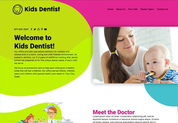 Design 46 Quick Custom Website