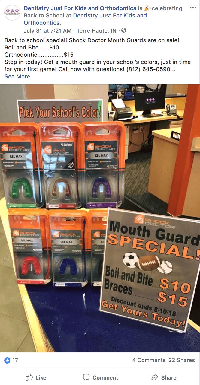 back-to-school mouth guard sale